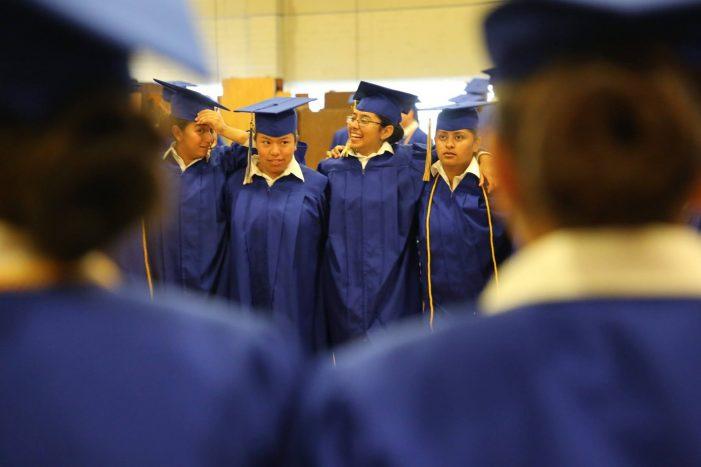 Graduates of the Washington Youth Academy
